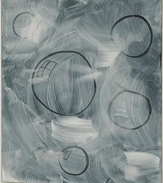 Untitled, 2015 acrylic on linen 140 x 115 cm