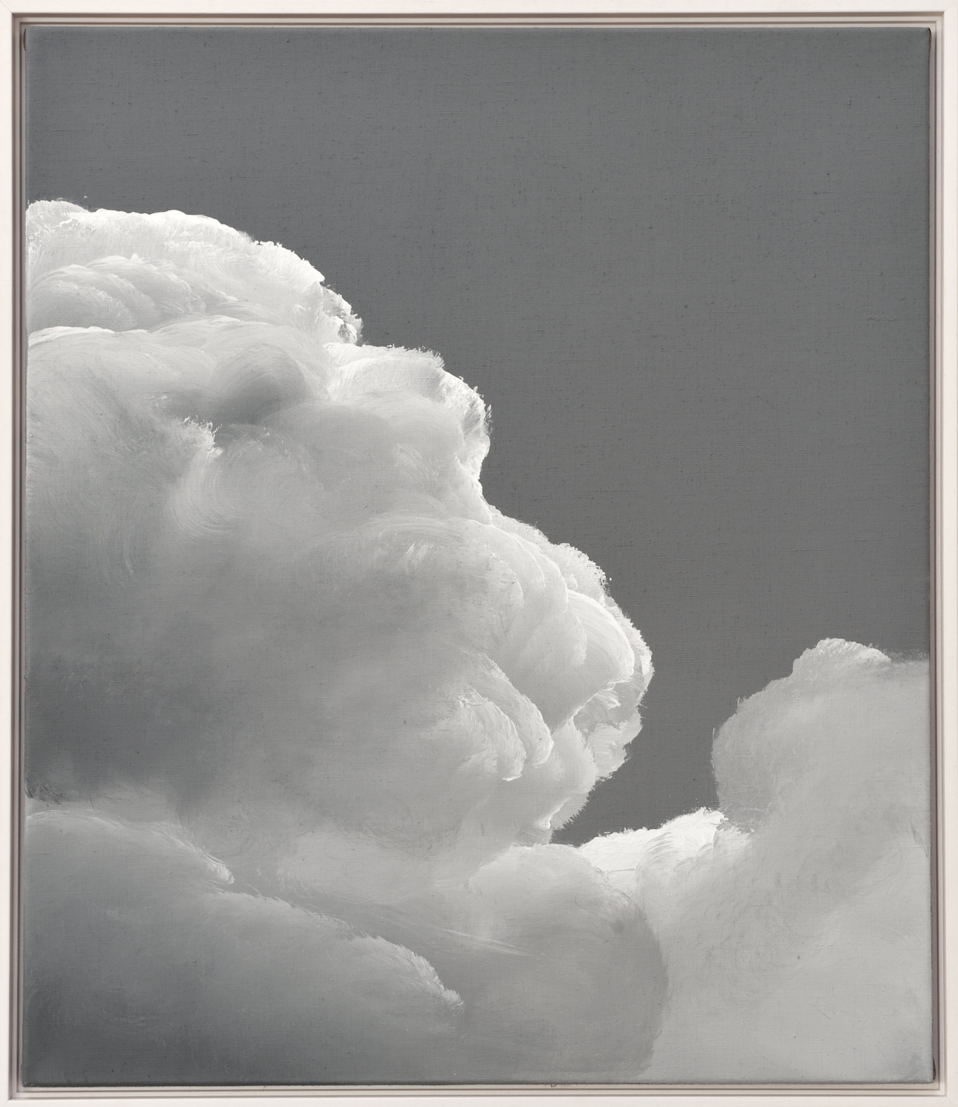 Clouds | 2016 acrylic on linen 60 x 50 cm