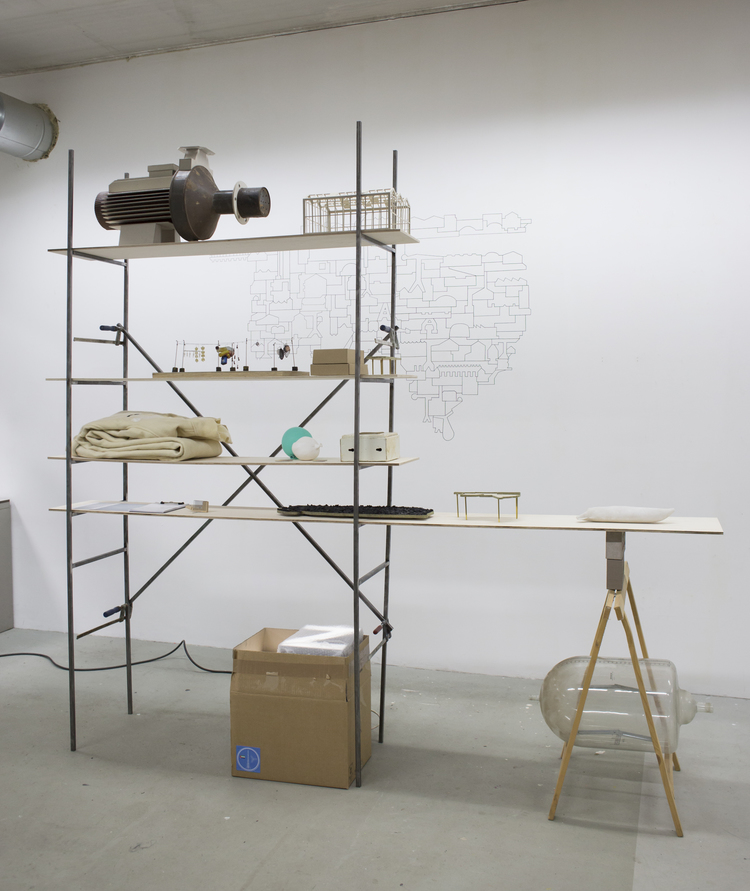 ARCHIVE OF THE INBETWEEN, 2015, INSTALLATION VIEW
