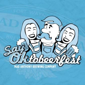 What to expect Oktobeerfest: Saturday, September 12th, 2015  Brewers tap their kegs at 2:00 as more than 1,000 folks sample the best brews they have to offer. Last year breweries including Rock Bottom Brewery, Shoreline Brewery, Barley Island Brewing Company, Bulldog Brewing, Lafayette Brewing Company, Chapman's Brewing Company, Cutters Brewing Company, Evil Czech Brewery, Figure Eight Brewing, Flat 12 Bierwerks, Half Moon Brewery, New Albanian Brewing Co., Triton Brewing, Broad Ripple Brewing Company; not to mention delicious craft beer from our Mad Brewers competition!  Last year we had 35 brewers in attendance and are expecting well over 40 this year! Don't miss out on this festival dedicated to promoting Indiana's Craft Beer Culture. Join us for the only distributor-free festival in our region.   Need Directions?   Includes: - Unlimited Indiana Craft Beer Samplings from 2pm-6pm - Festival Gift - Entertainment provided by local bands - Access to our Food Truck Alley  More info  HERE