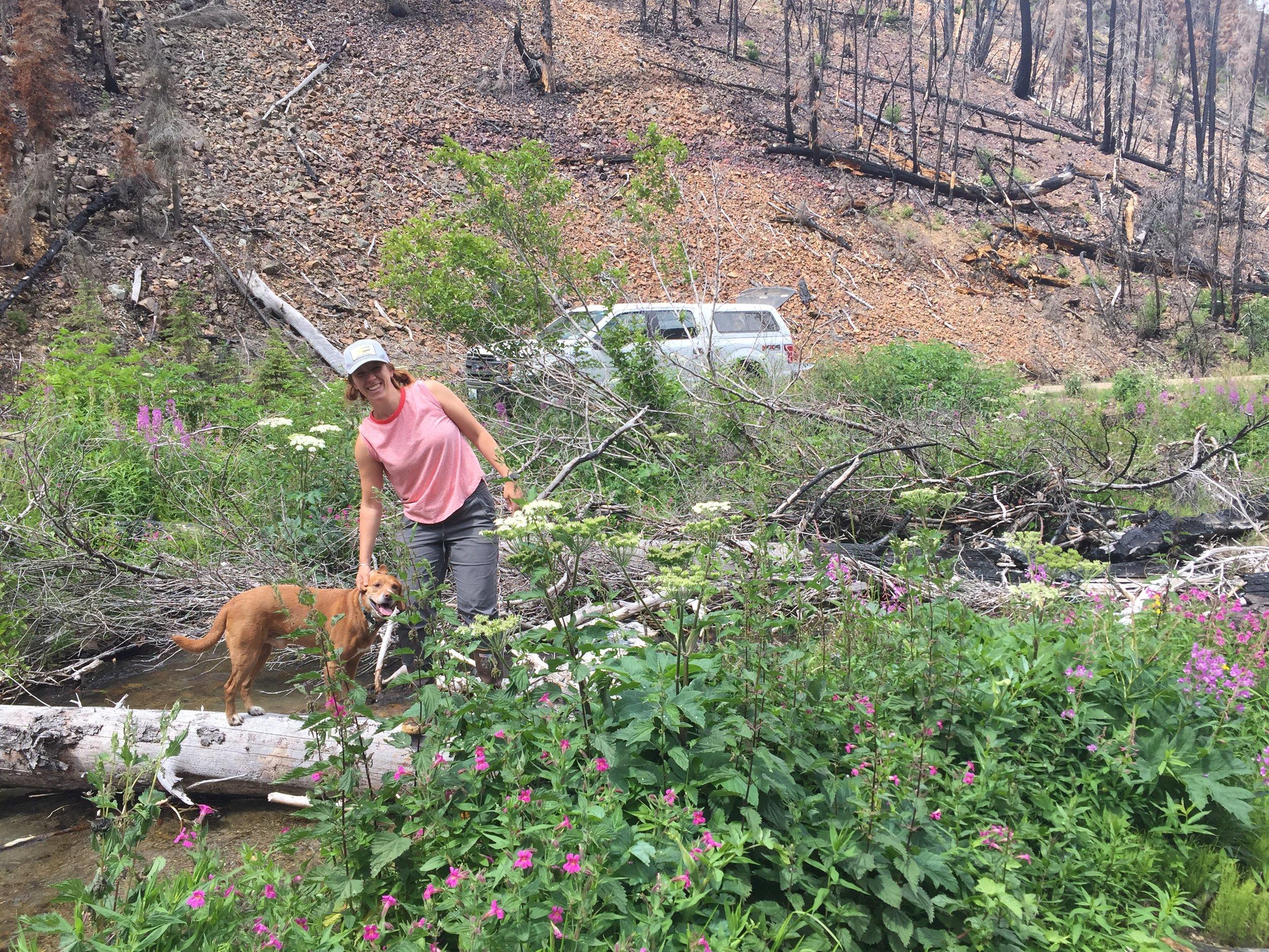 Julia + Barn in Field.JPG