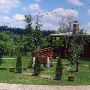 The garden of Kathy, Darrell & Robert Jenkins