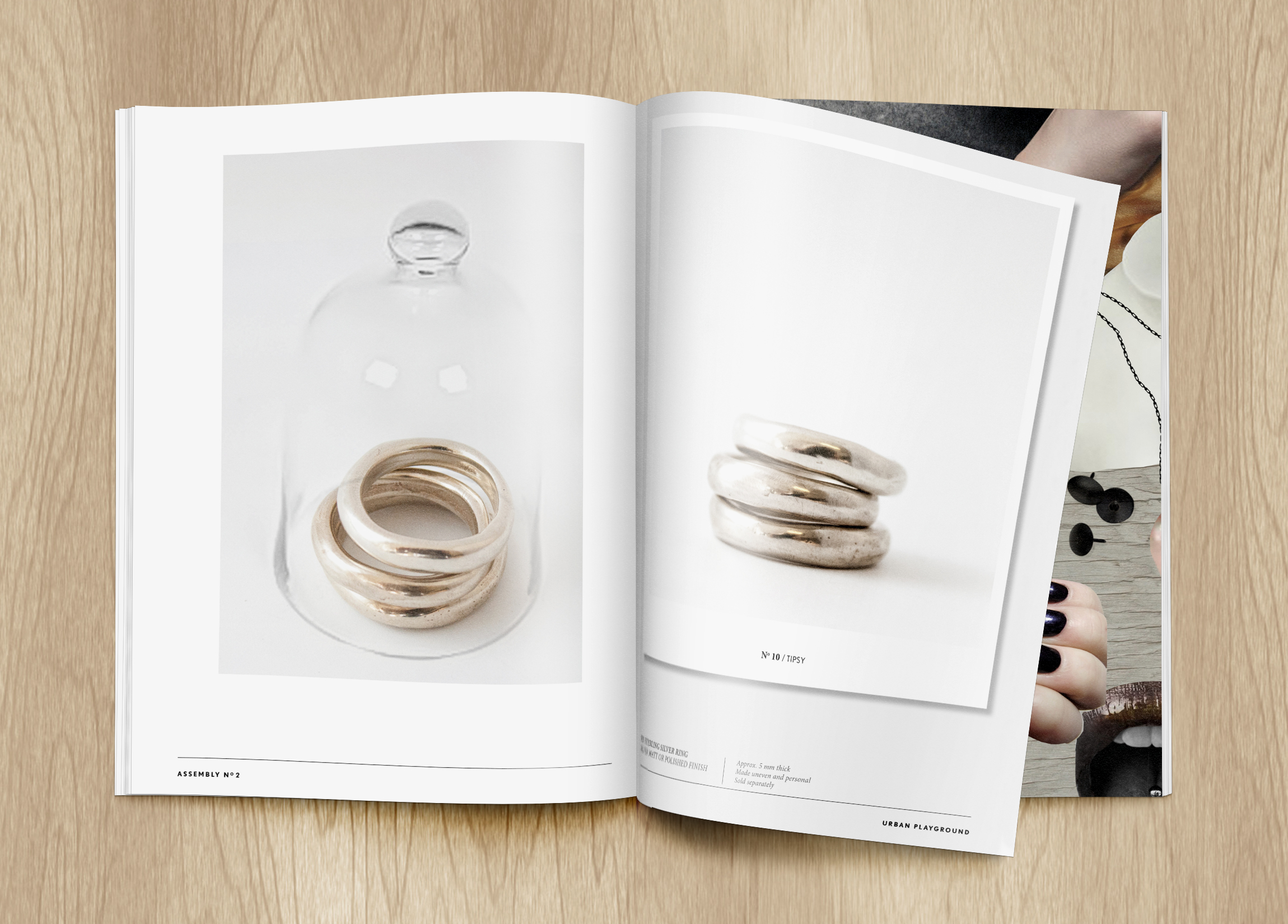 LOOK A BOOK / T/RAW JEWELLERY APRIL 2015