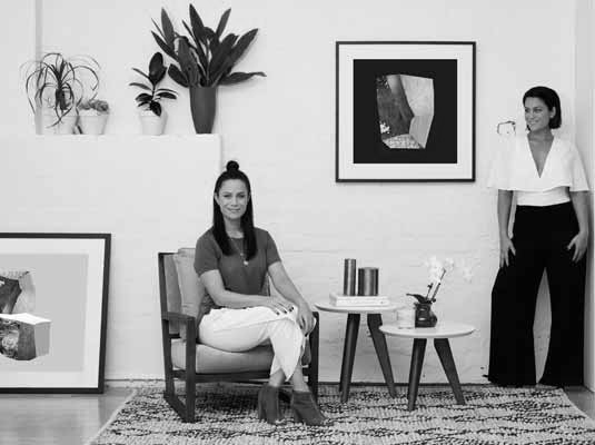 Alisa and Lysandra Fraser  have become the go-to experts for interior transformations in Australia, working as interior designers on bespoke properties and collaborating with high profile brands and clients.