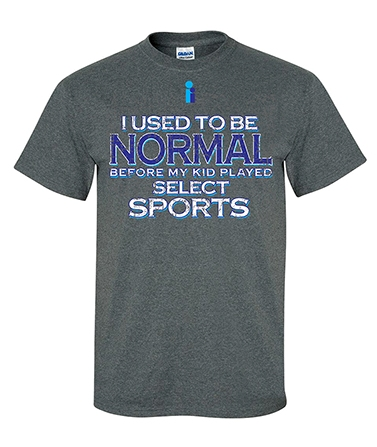 T-shirt front(Note: Colors may print slightly different than how they appear on screen.)