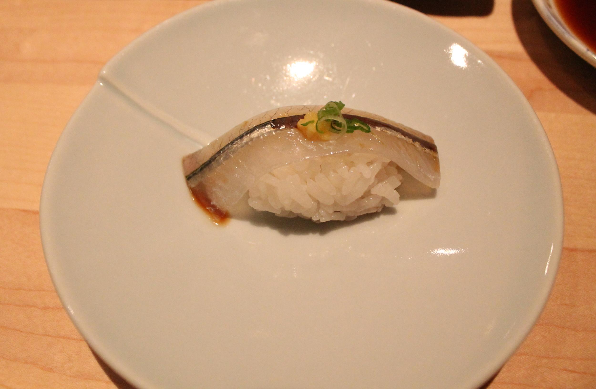 Japanese Sayori (Needlefish) Nigiri