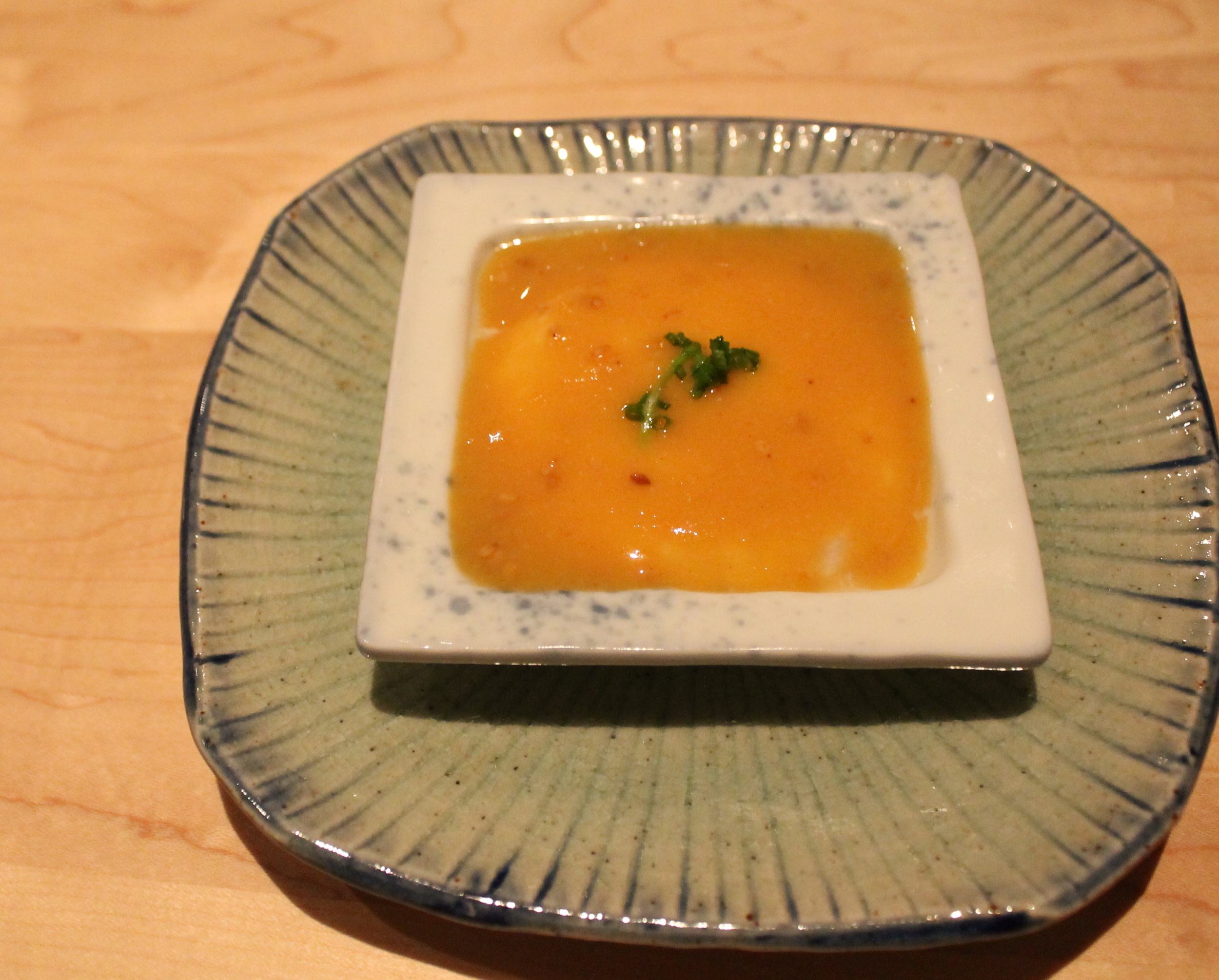 Black Cod Shirako Tofu
