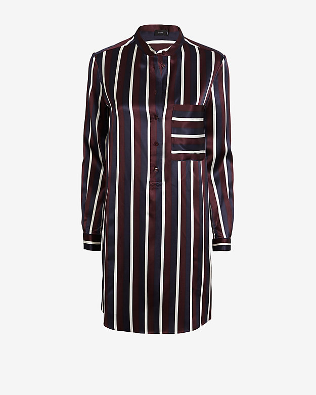 JOSEPH  Satin Shirt Dress , $120