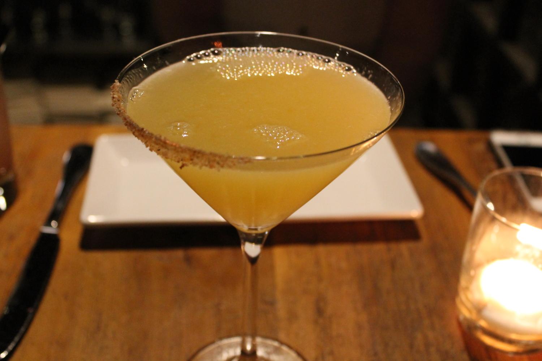 La Bruja:Tequila, Lillet, Cointreau, Orange, Espellette