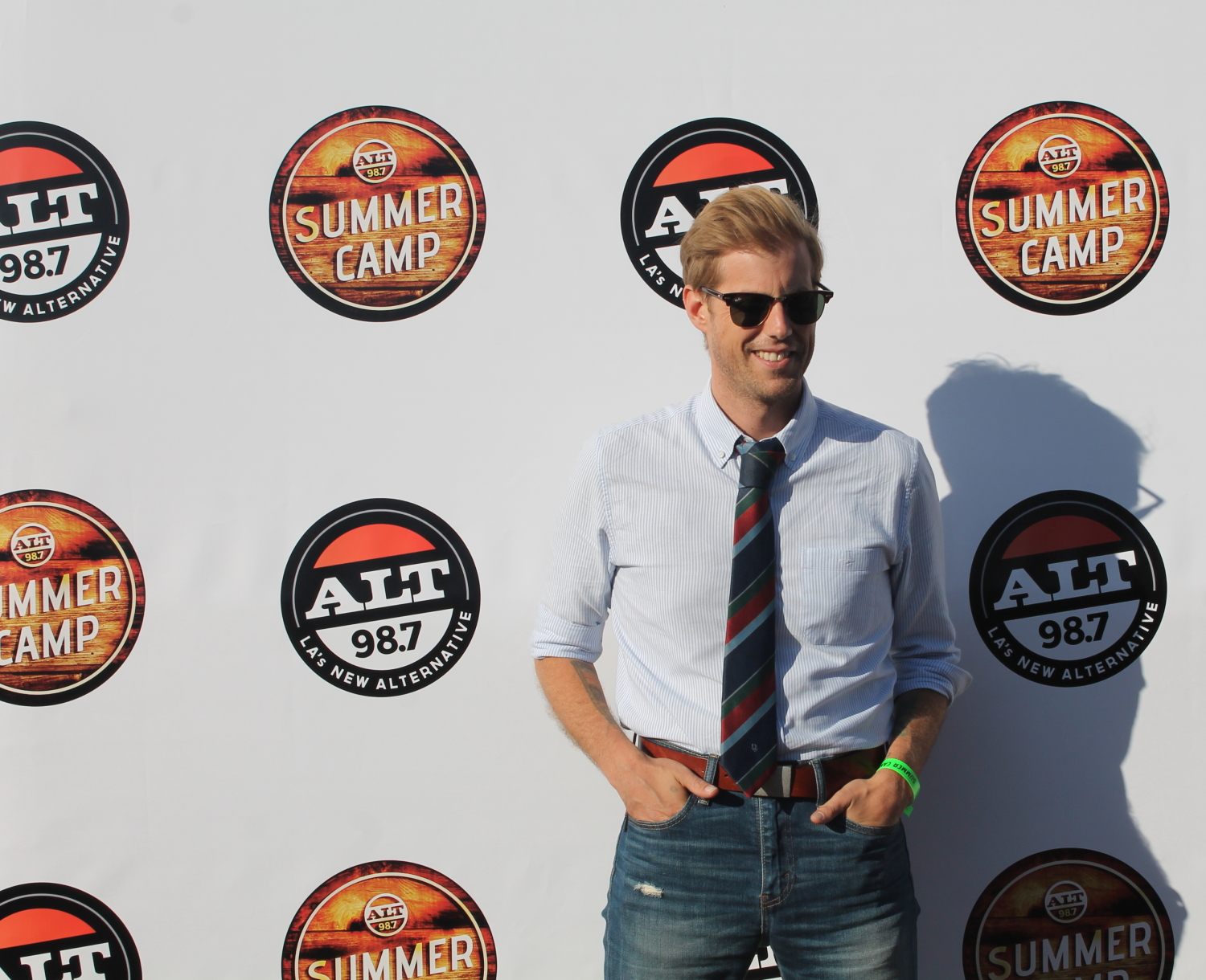 Andrew McMahon looking sharp
