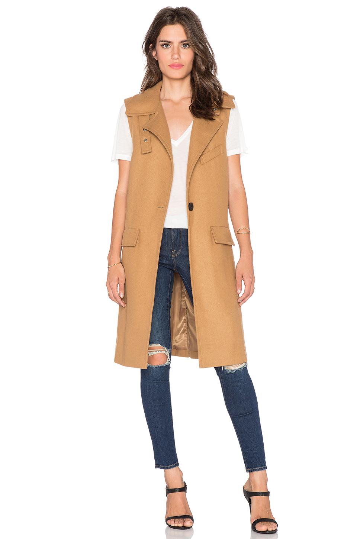 J.O.A. Button Coat, $112