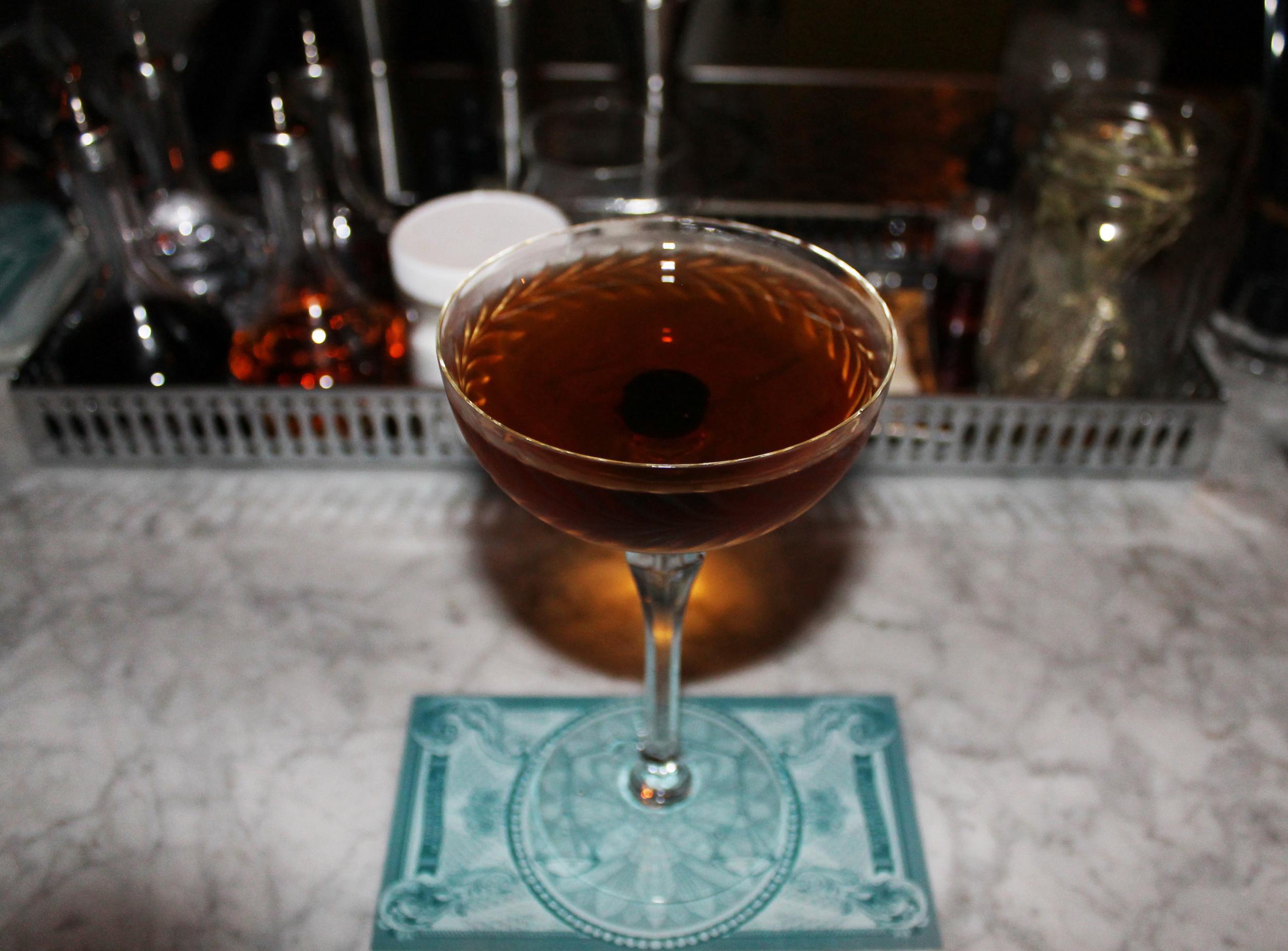 The Departed: Powers John Lane 12 Yr Irish Whiskey, Bonal Gentiane, Cardamaro