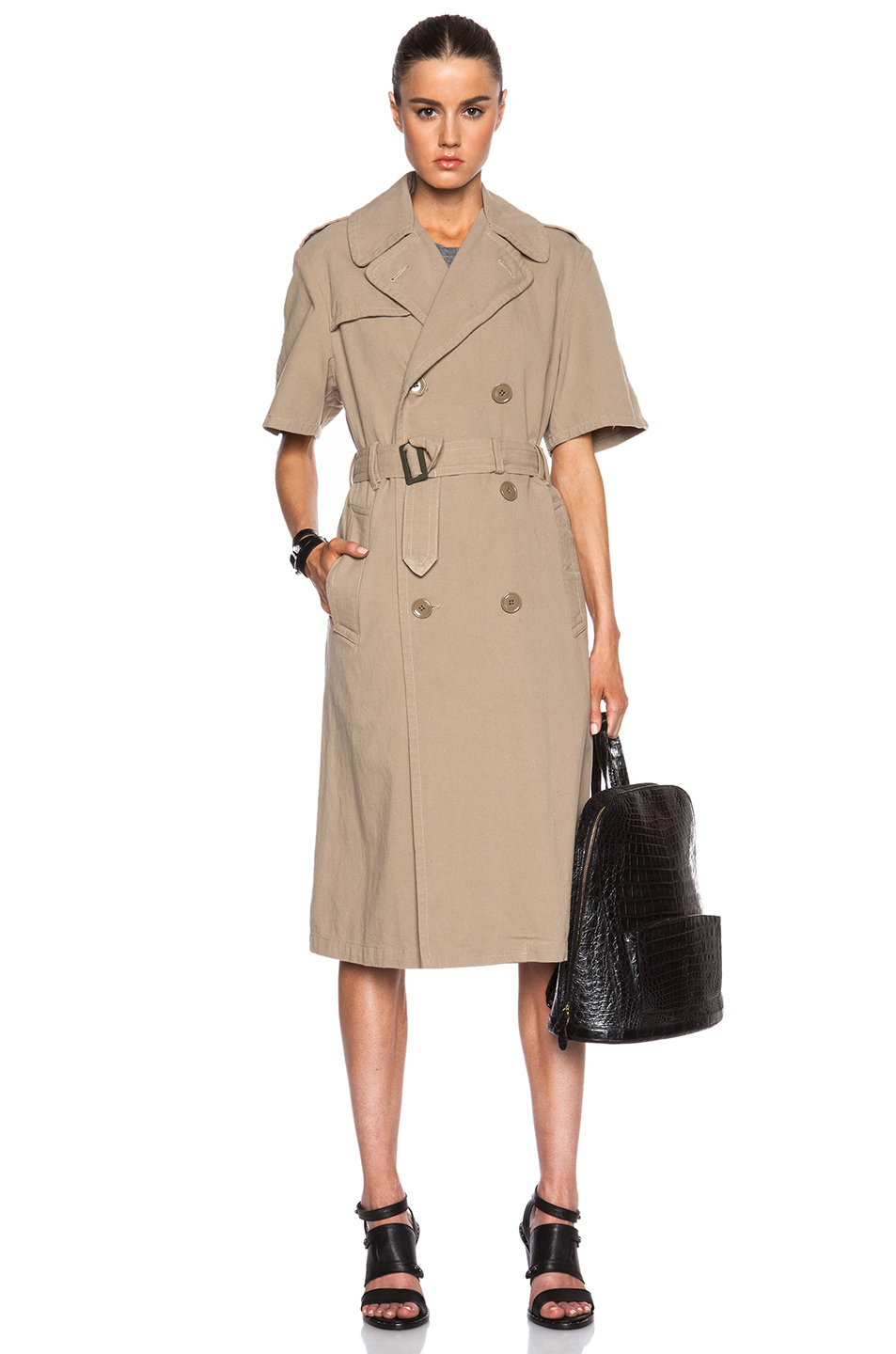 NLST Trench Coat,  Forward,  $215