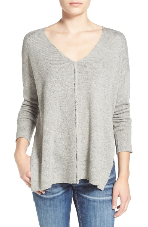 Lush V-Neck Sweater,  Nordstrom , $48