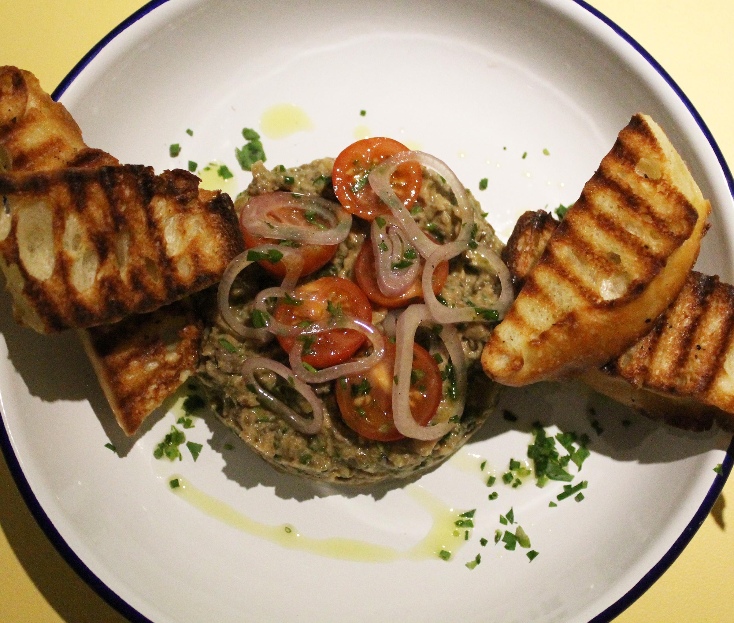 Eggplant Tahini Salad