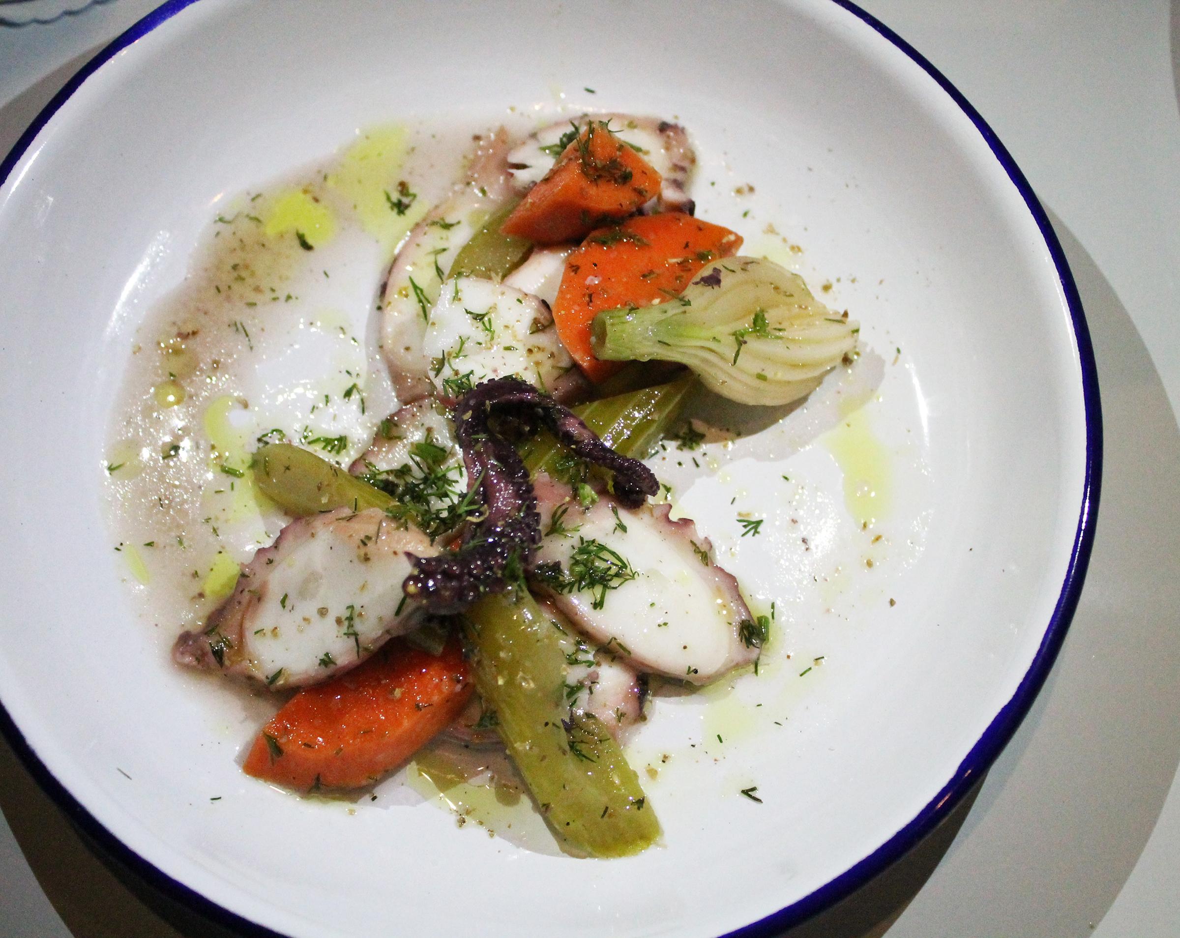 "Octopus Stew ""Krasato"":Red Wine, Onion"