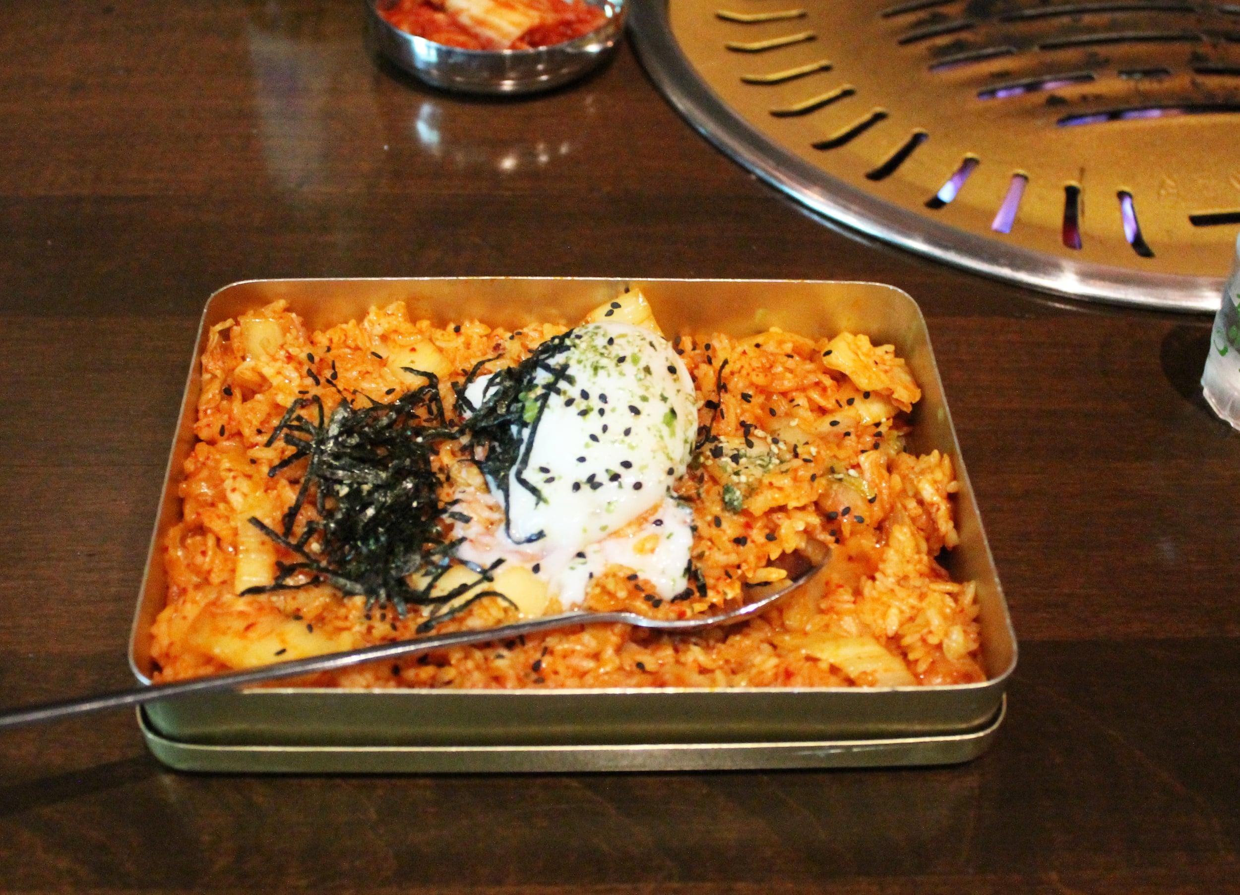 The Kimchi Fried Rice at Hanjip