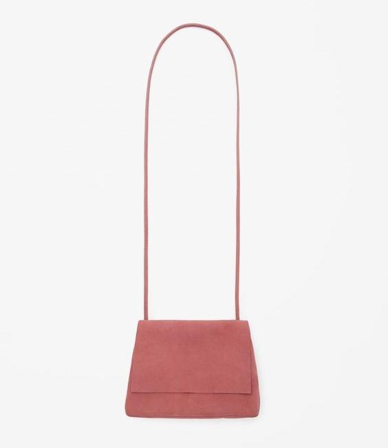 Suede Shoulder Bag, $115, COS