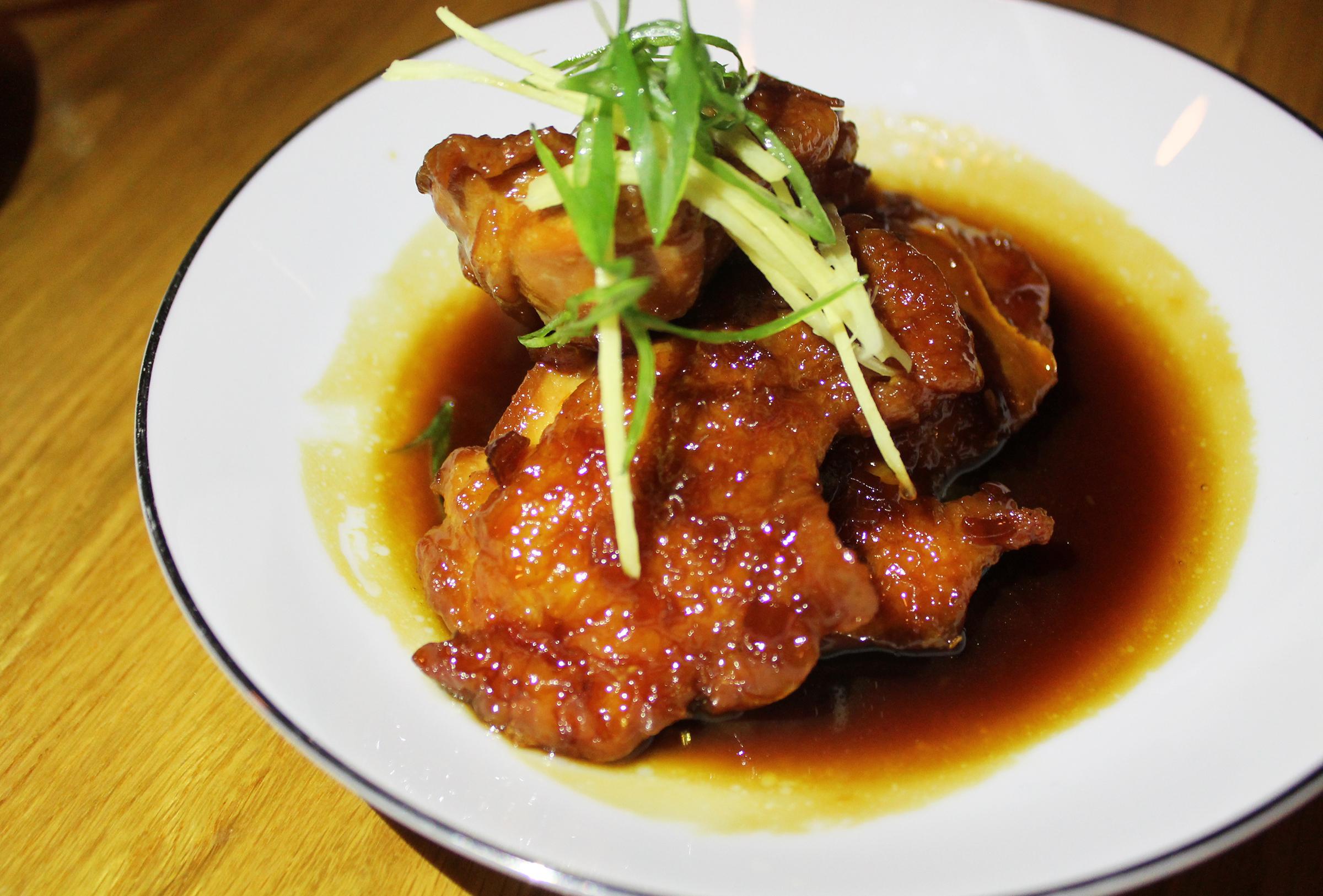 Ginger Caramel Braised Jidori Chicken Thigh