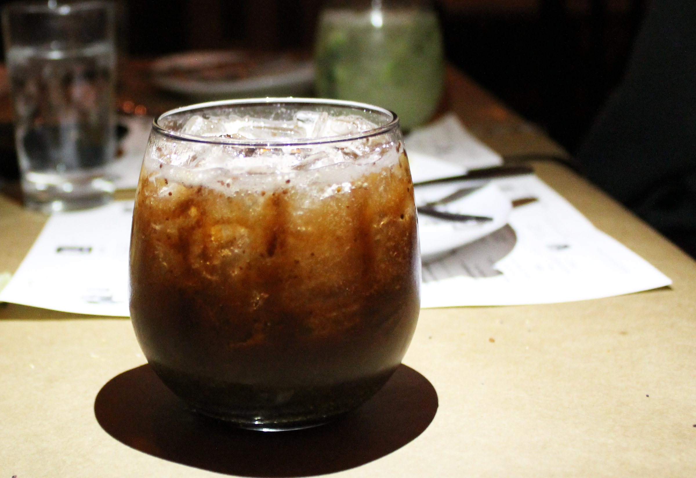 Old Forester Whiskey + Fig + Oregano