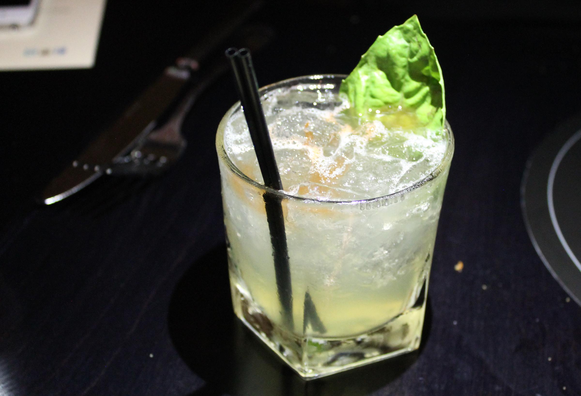 Le Pastel:  Hendricks, Fresh Lemon, Lime & Grapefruit Juice