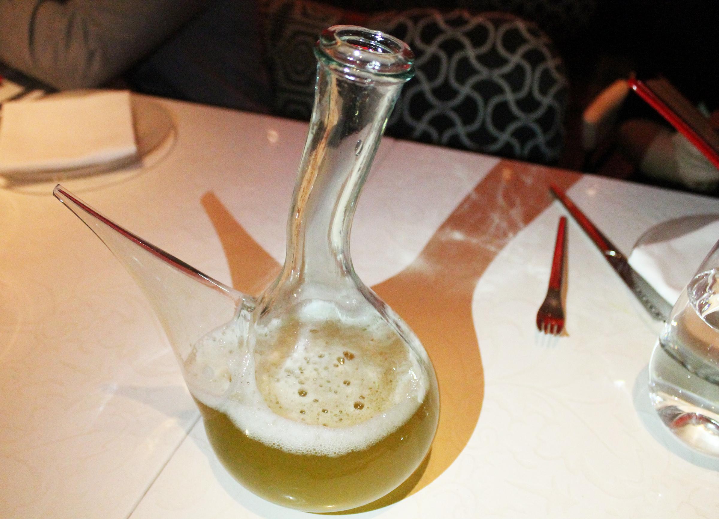 Clara: Beer and house-made rosemary lemonade