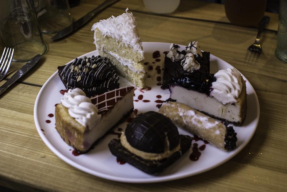 Photo by Julia Rich : The Dessert Platter