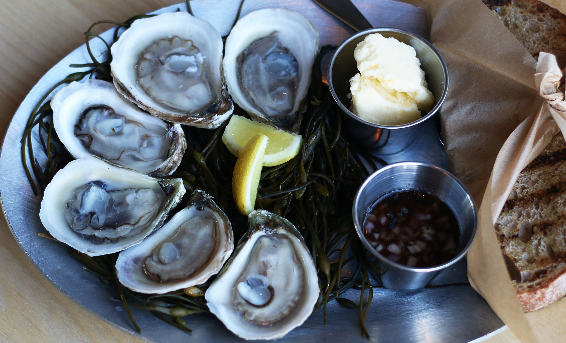½ DOZ. OYSTERS daily preparation