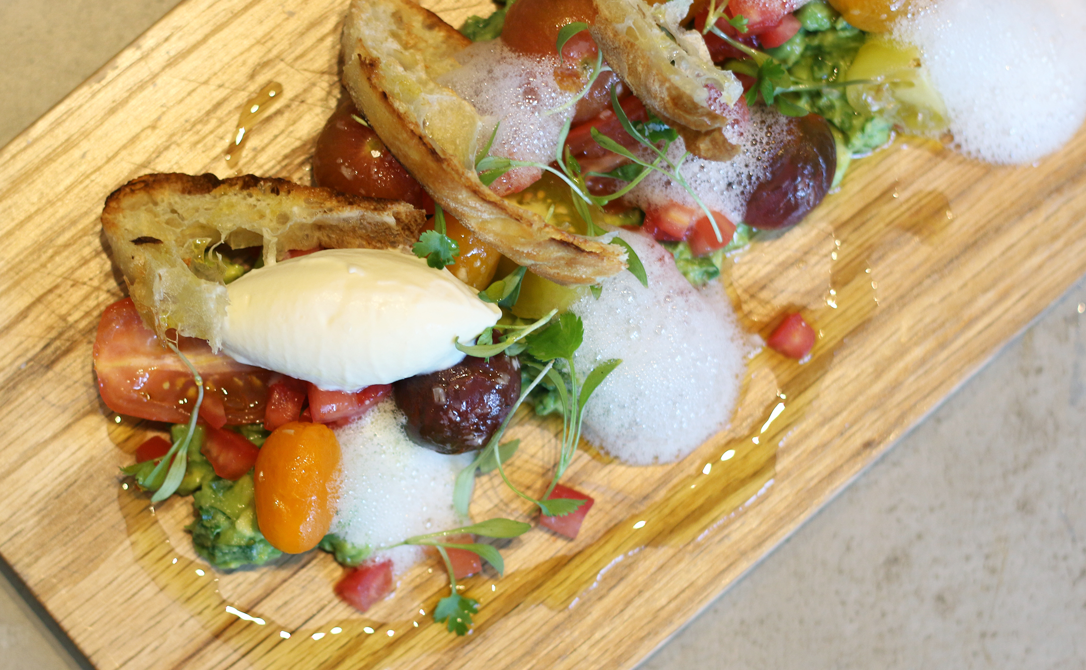 Heirloom Tomato Salad with Avocado