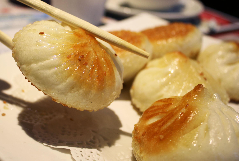 Pan Fried Pork Dumplings