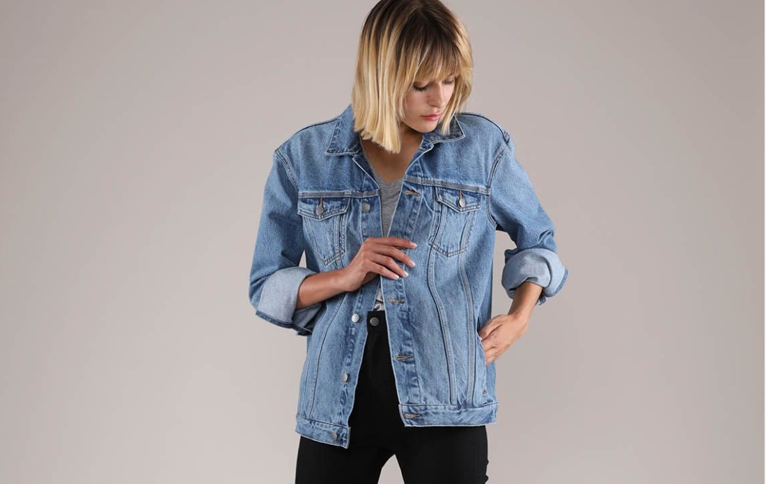 Denim Jacket, $129