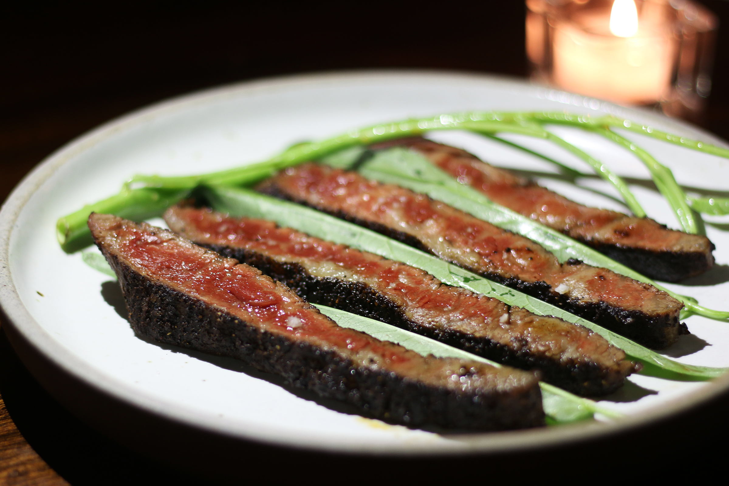 Wagyu Beef Belly with Sun-Dried Mole