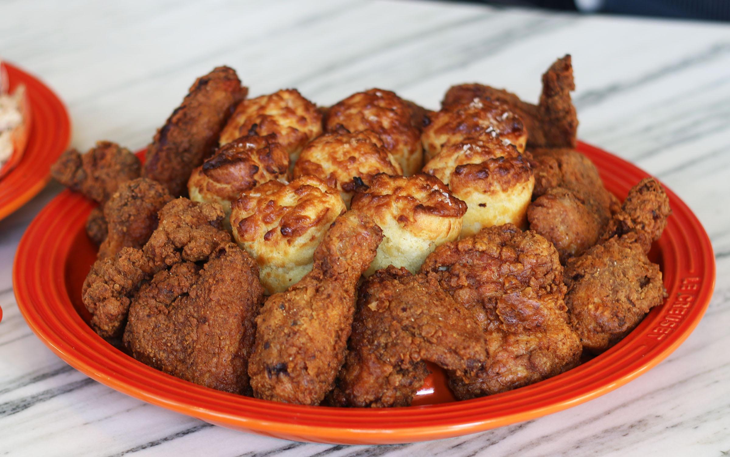 Fried Chicken & Biscuits