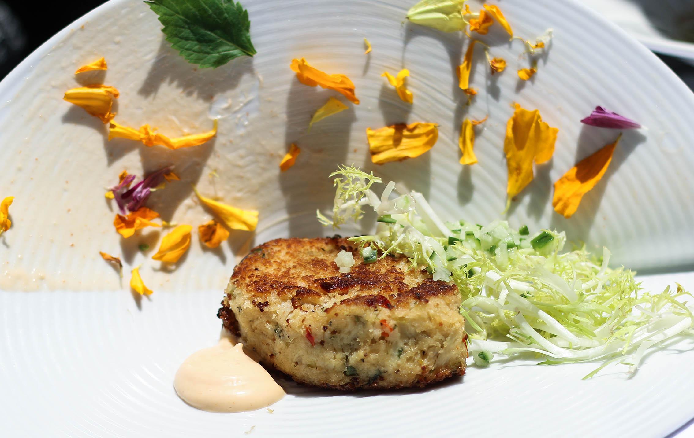 Hearts of Palm Vegan Crab Cake