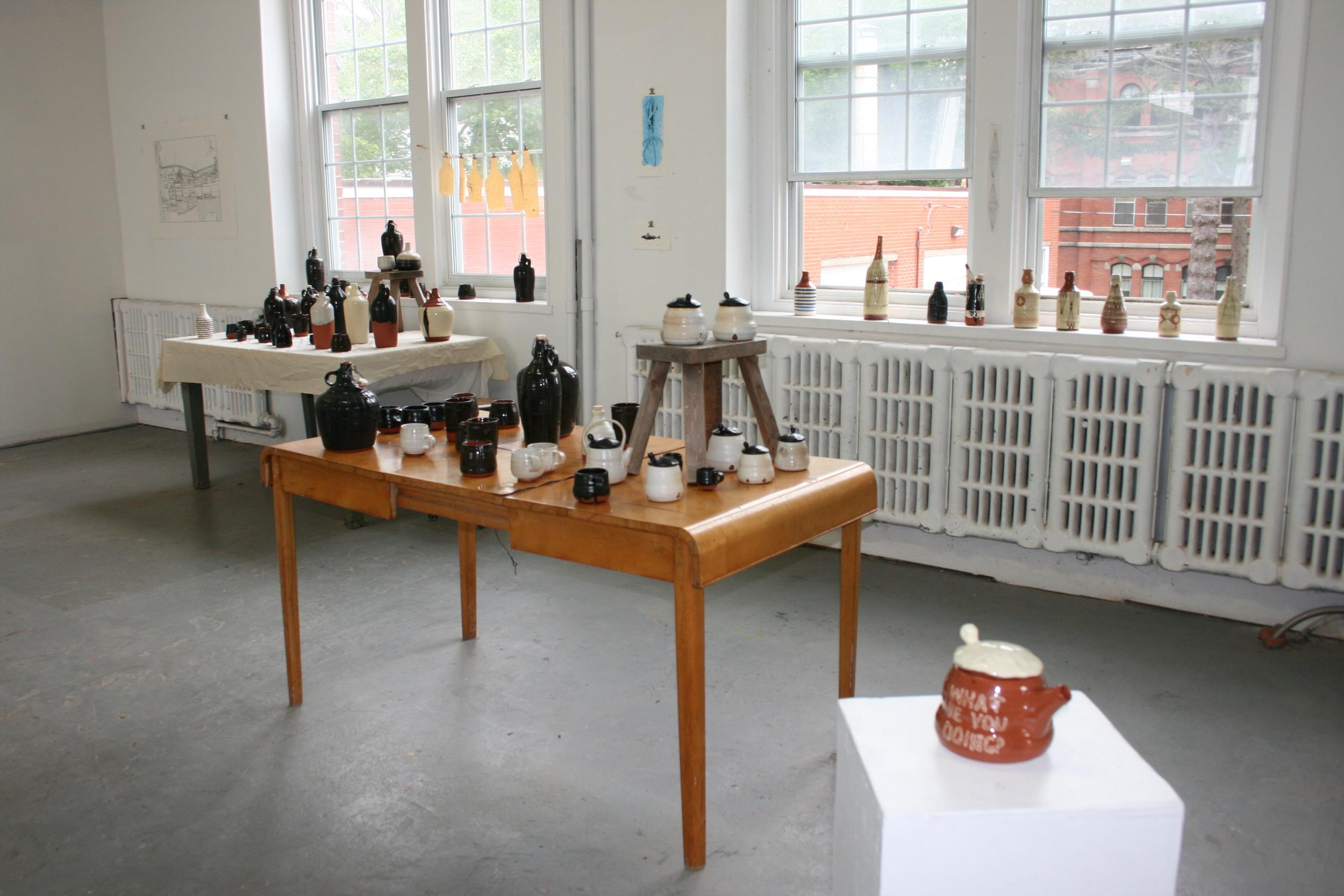 Erin Robison's installation