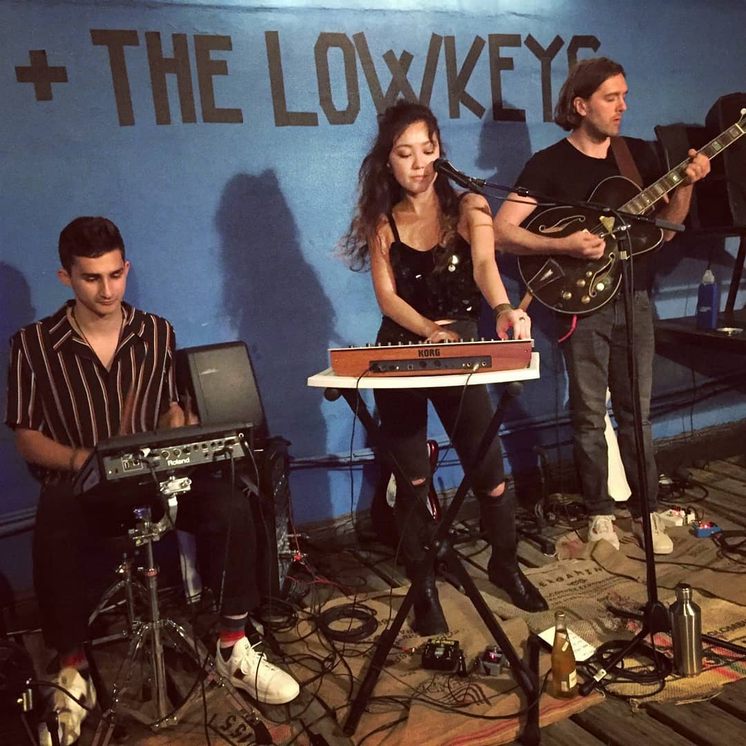 Leah & the LowKeys at their launch party in August 2018