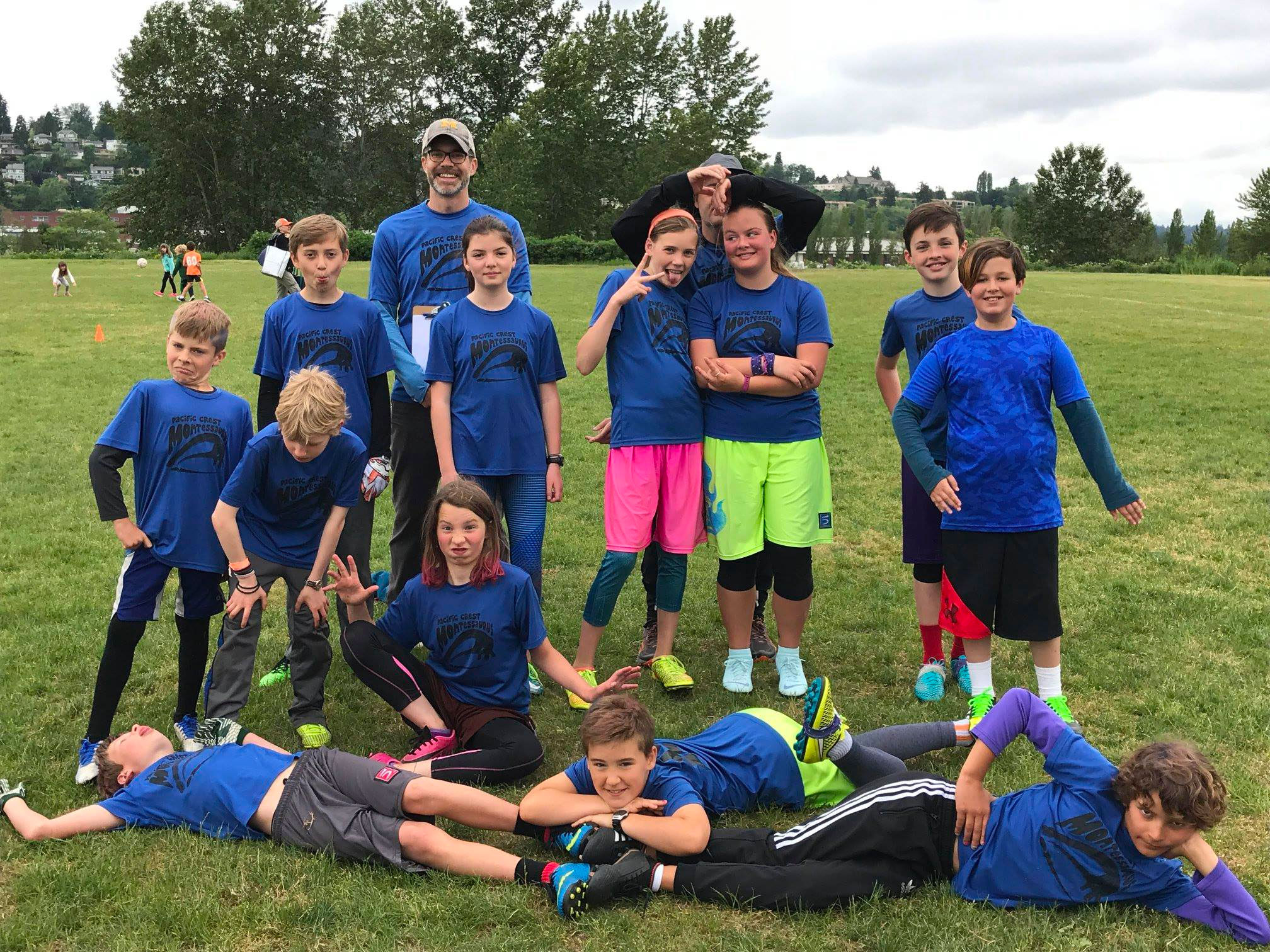 PCS Elementary School Ultimate - Pacific Crest runs casual practices and scrimmages in the fall with a season and end of season tournament (Spring Jam) in the spring.