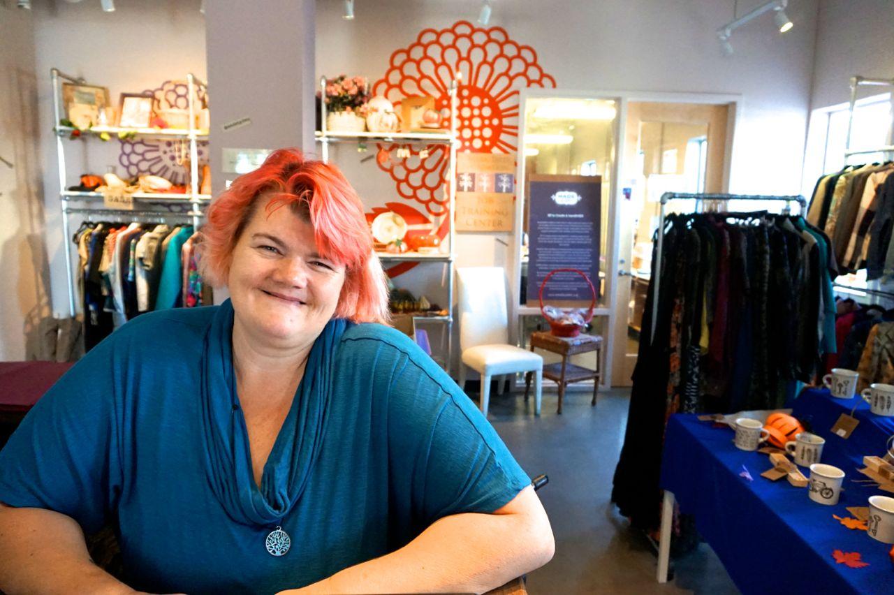 Rachel from DWC's Resale Botique