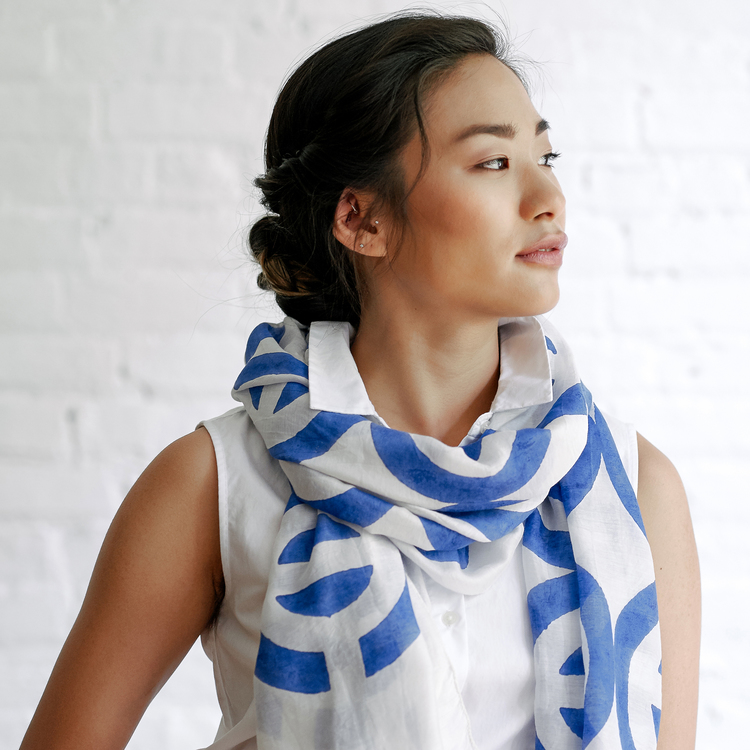 15 Handmade & Fair Trade Scarves To Add To Your Wishlist