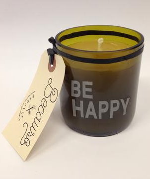 Because Project Be Happy Lavender Beeswax Candle.png