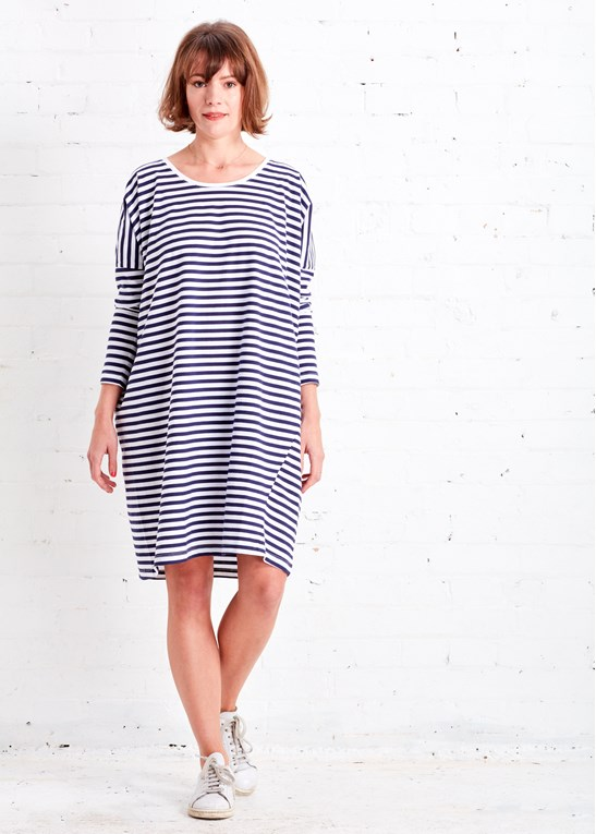 The Ethical Fashionista's Guide to Organic Clothing | Kowtow Breton Dress