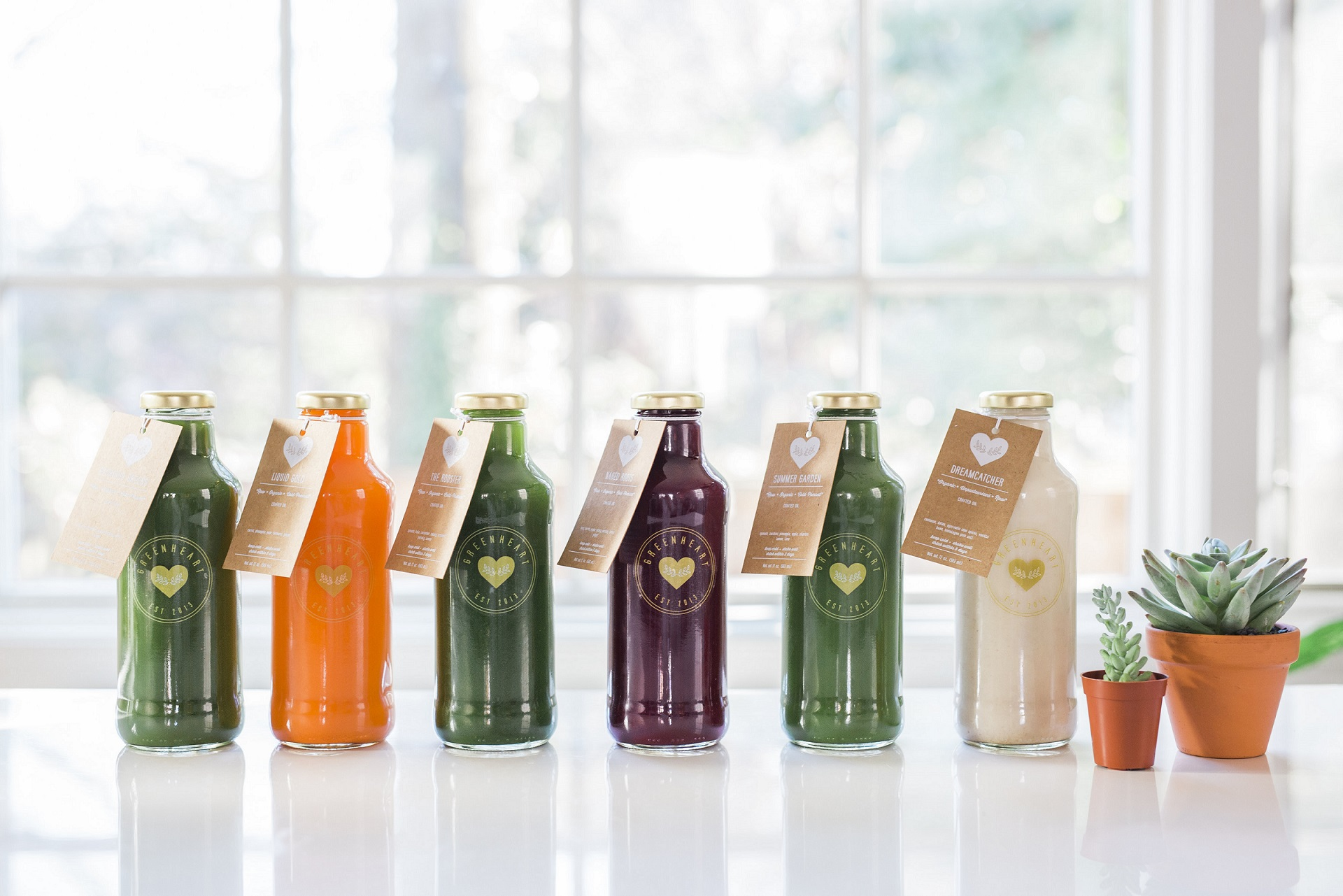 Sustainable Eateries Washington, DC | Greenheart Juice Shop