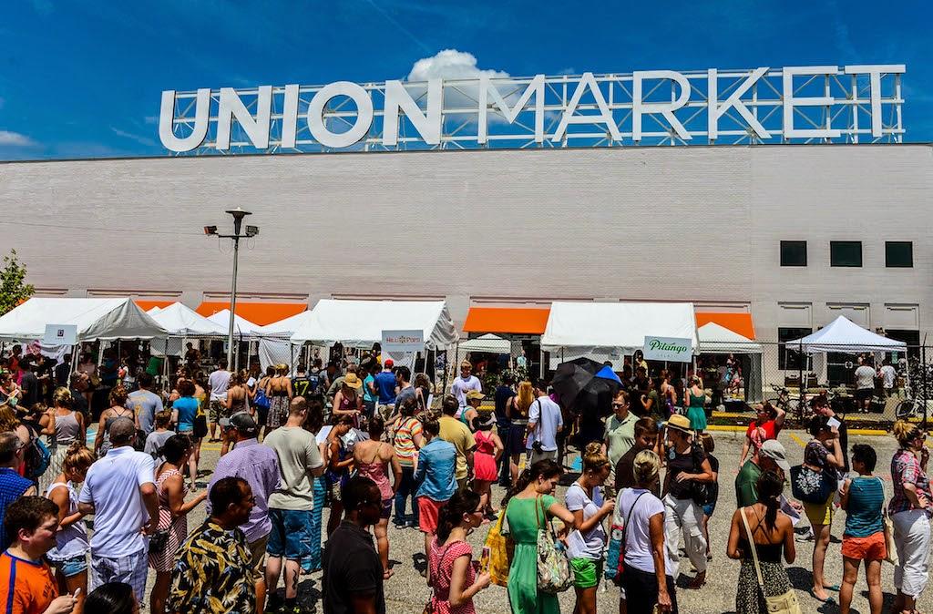 Sustainable Eateries Washington, DC | Union Market