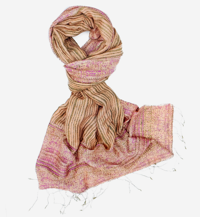 Handmade Cotton Scarf from Guatemala Fair Trade Multiple Colors!