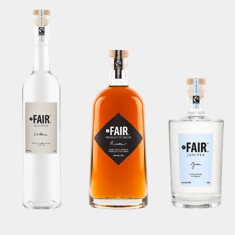 Liquor Brands That Give Back - FAIR Spirits