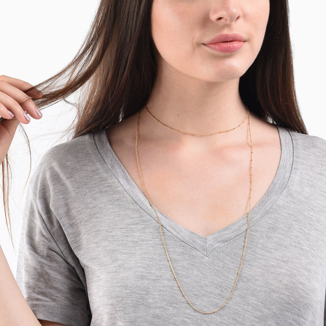 One Long Chain Necklace by Mejuri // Handcrafted Jewelry Brands For The Minimalist