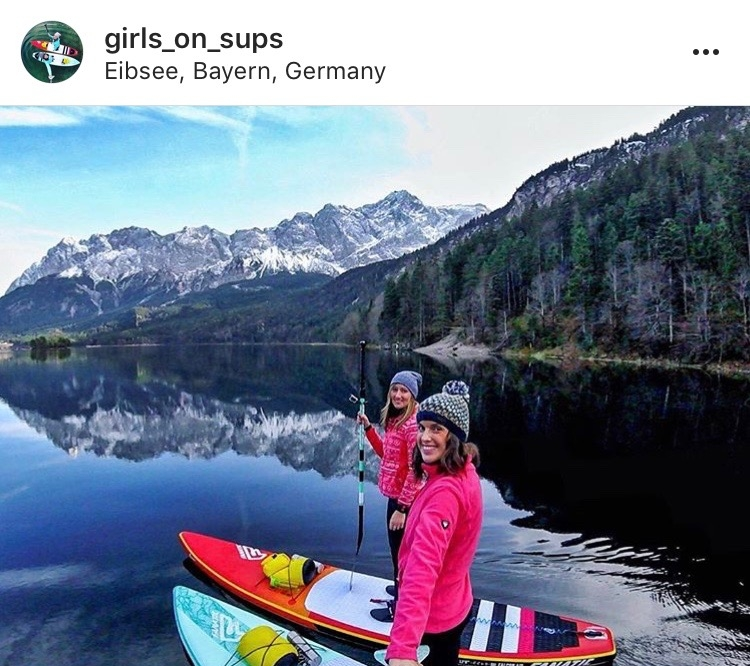 Women Adventurers On Instagram // @girls_on_sups