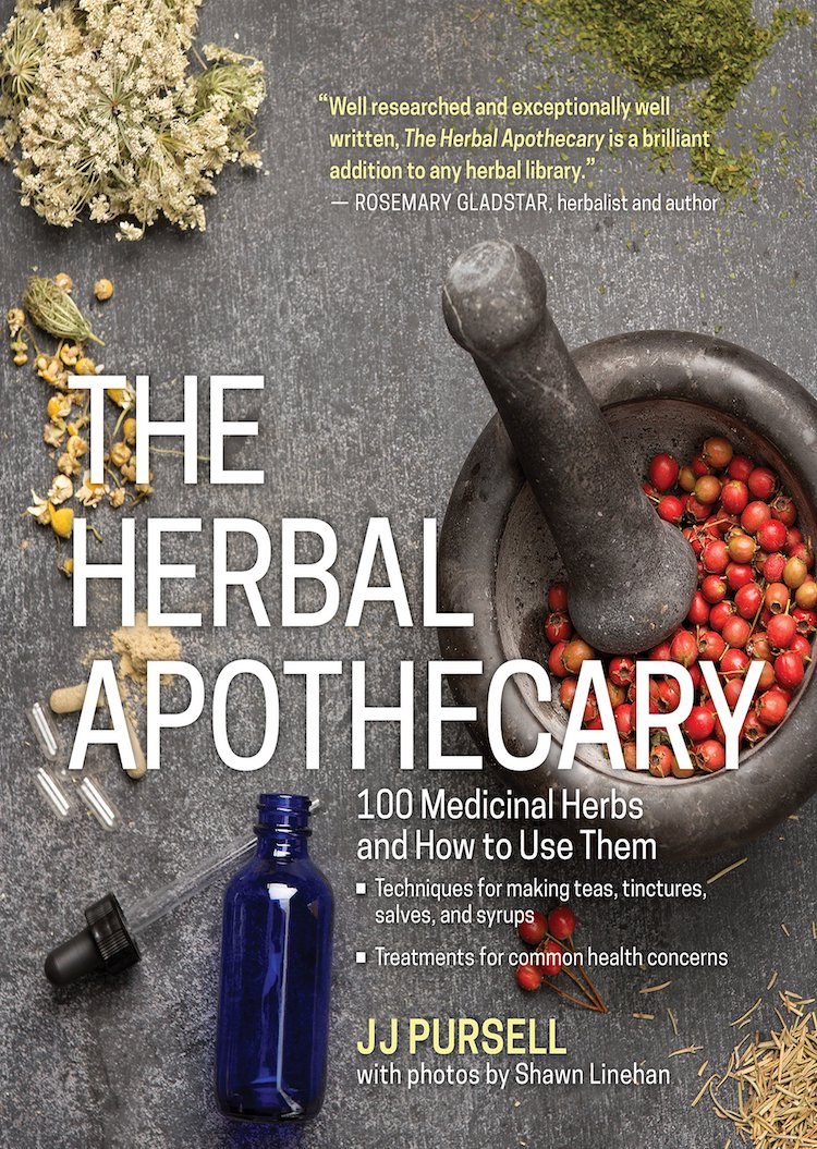 Books On Natural Remedies - The Herbal Apothecary by JJ Pursell