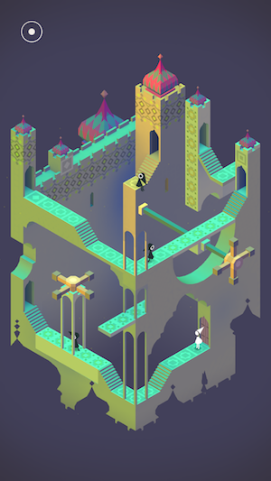 Monument Valley Mobile Game // Apps For The Modern Woman on The Good Trade