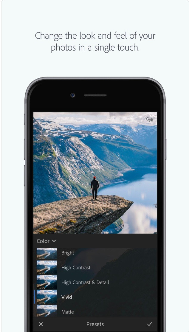 Adobe Lightroom Photo Editing App // Apps For The Modern Woman on The Good Trade